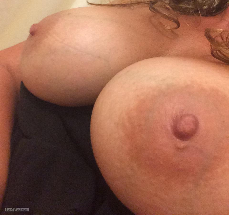 Tit Flash: My Big Tits - Justboobies from United Kingdom