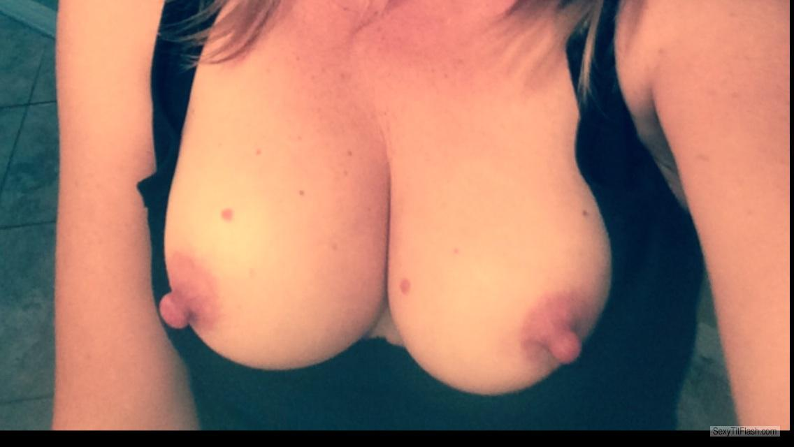 Medium Tits Of My Wife Selfie by Southpaw