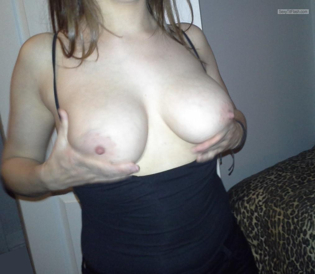 Tit Flash: My Medium Tits - Ms. Busty from Canada