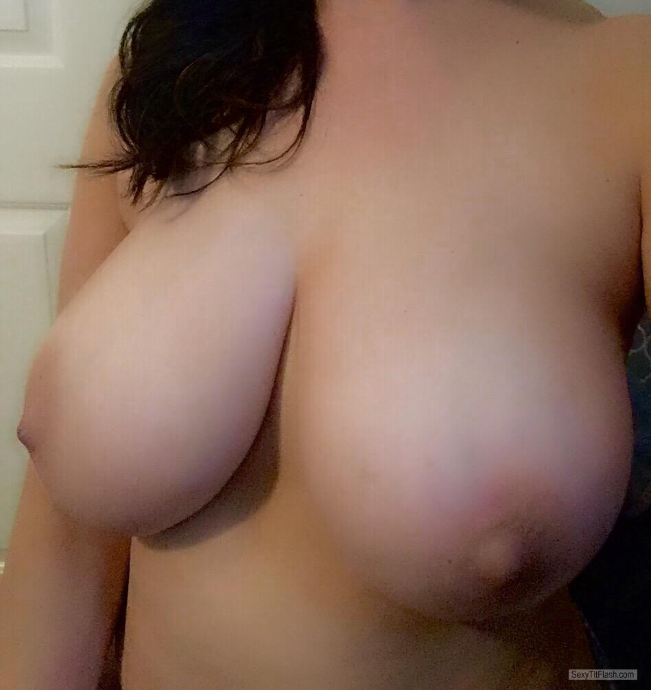 Big Tits Of My Wife Selfie by Titmaster