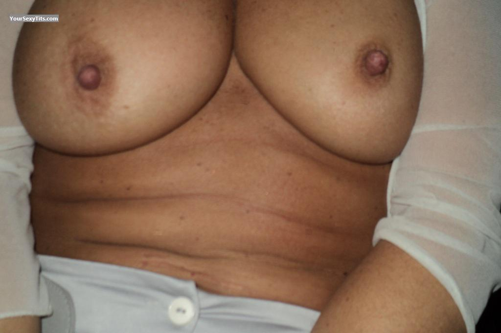 Tit Flash: Big Tits - Nice Smooth And Sensitive Ti from France