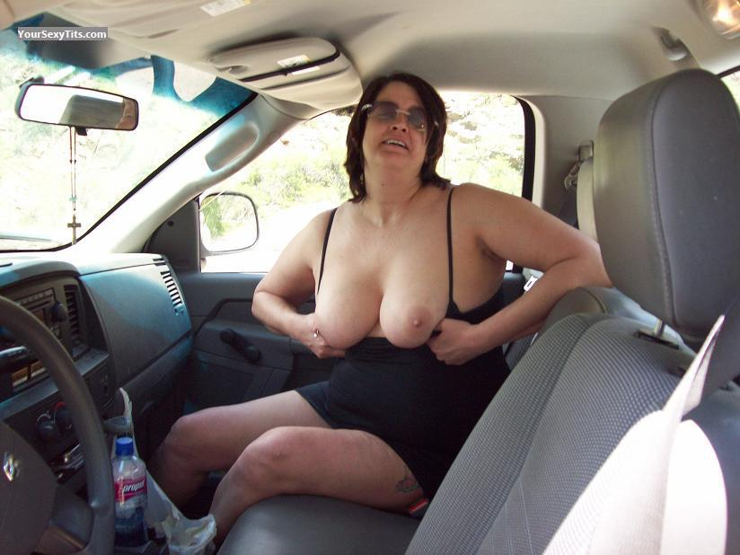 Big Tits Topless Colleen