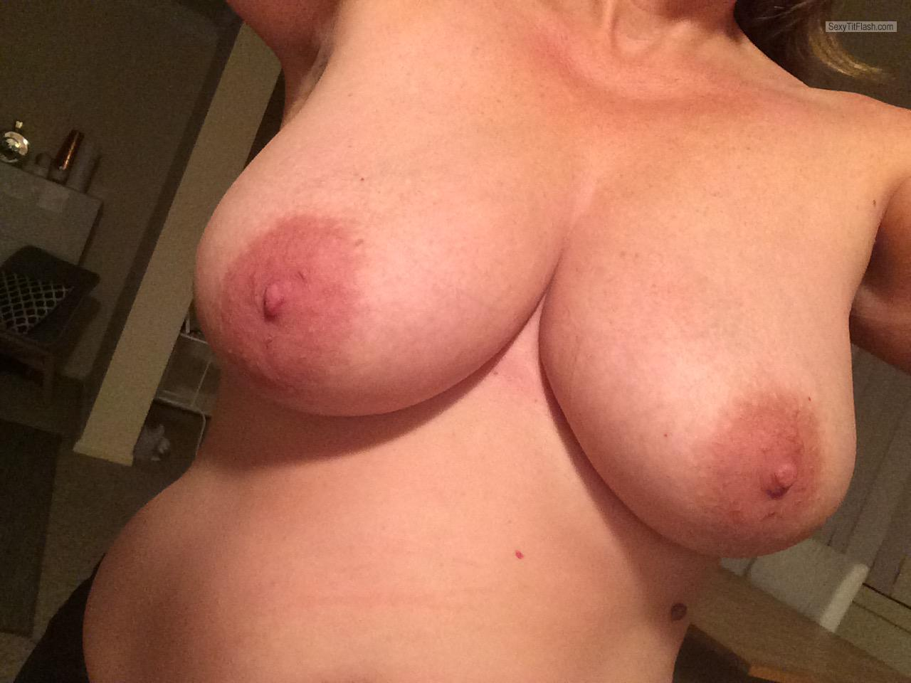 Tit Flash: My Big Tits (Selfie) - 48 Year Old Tits from New Zealand