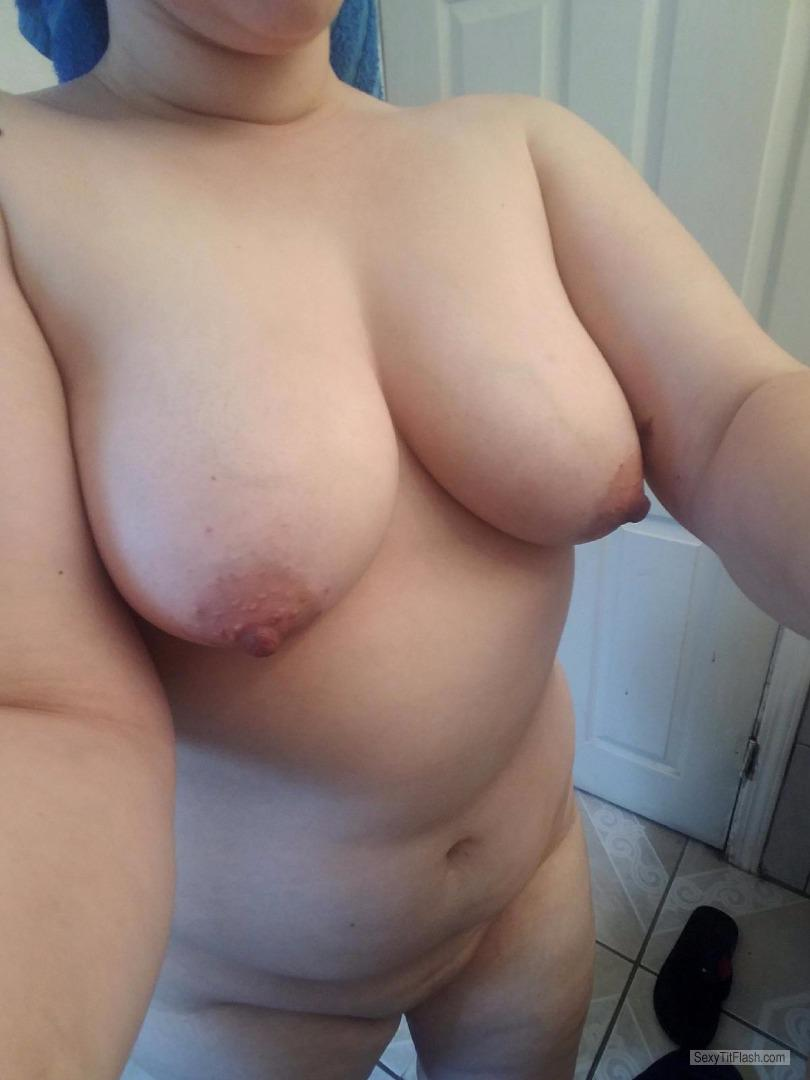 Big Tits Of My Wife Selfie by Sexy Wife