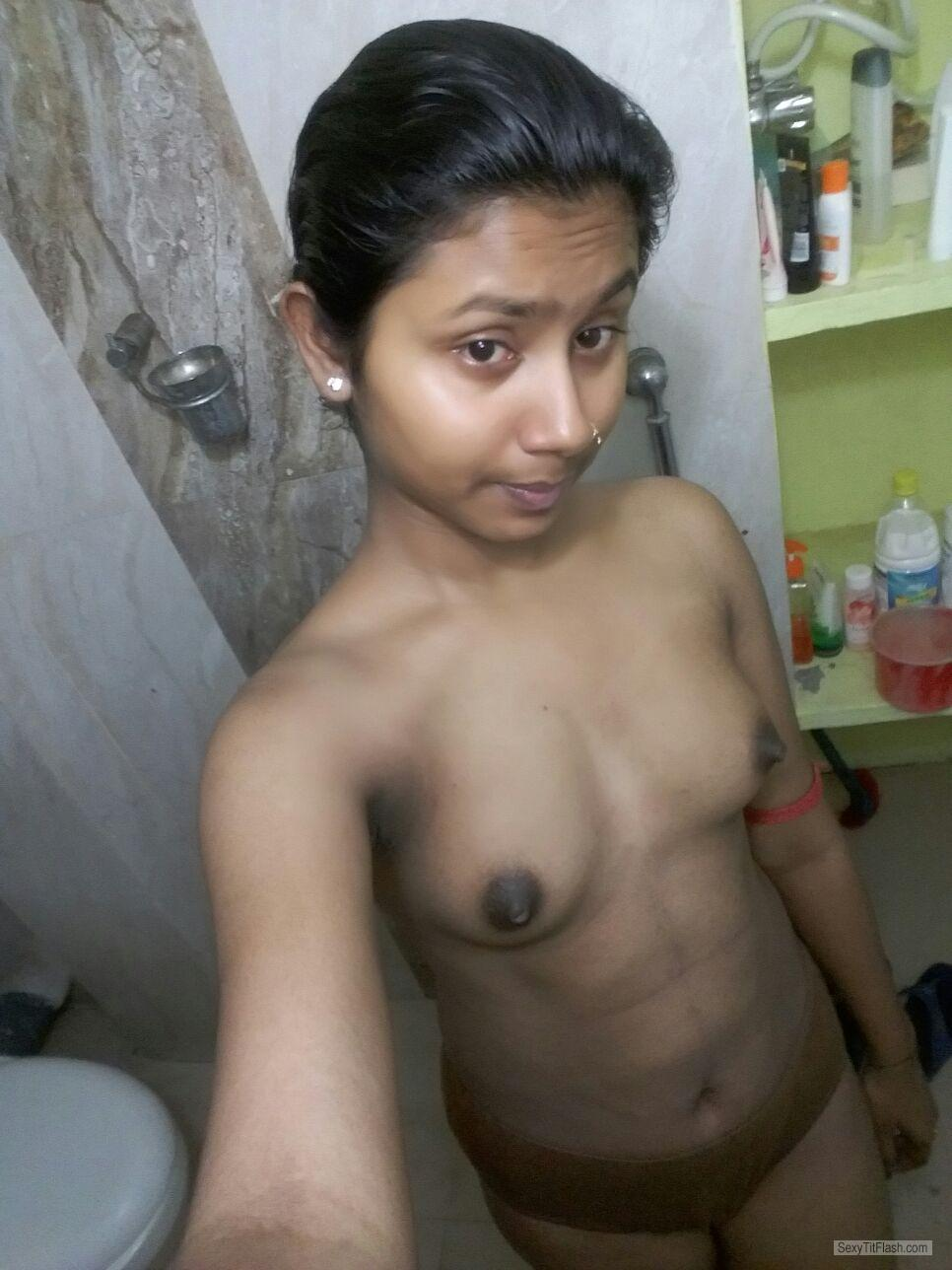 My Big Tits Topless Selfie by Sayani Bhoj