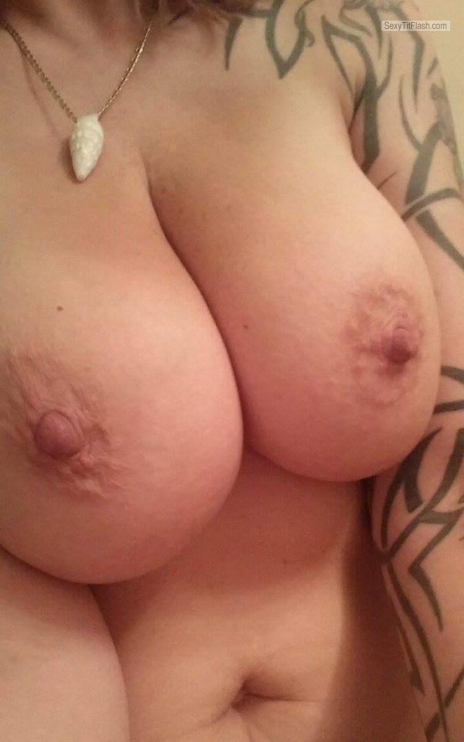 Tit Flash: My Big Tits (Selfie) - Jana from United States