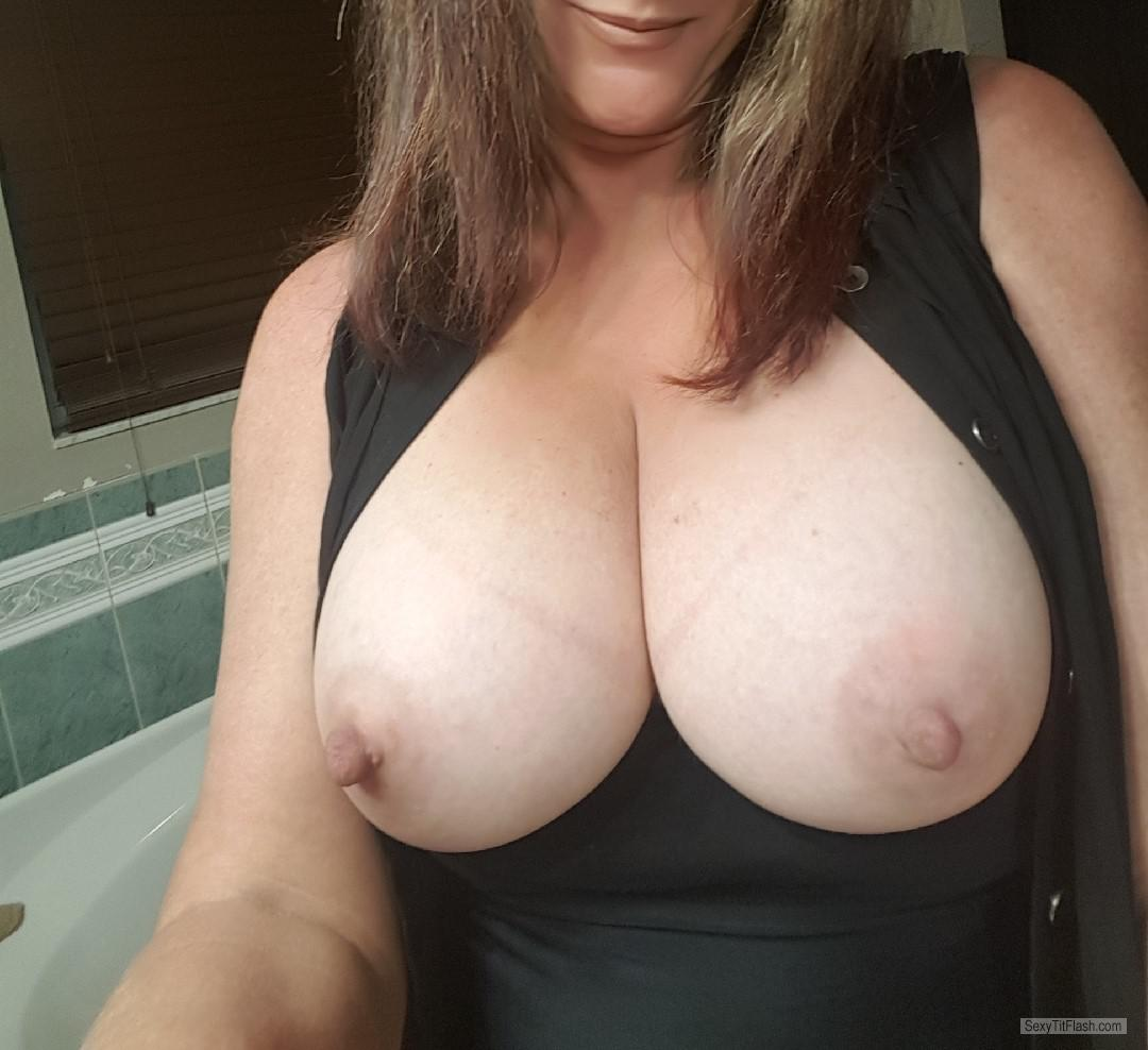 Tit Flash: My Big Tits (Selfie) - Mrs Gr8pair from United Kingdom