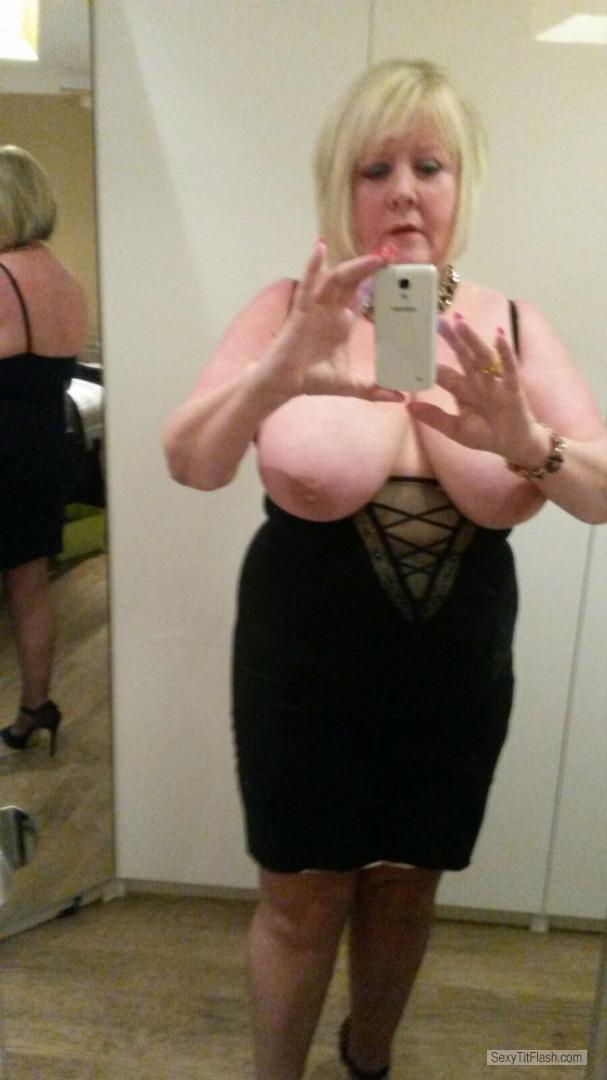 My Big Tits Topless Selfie by Babs