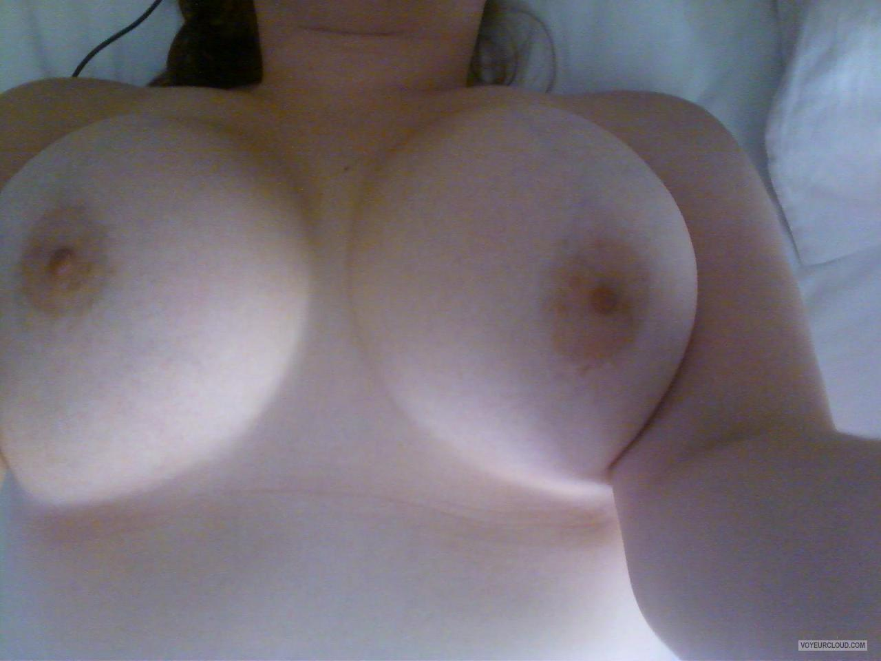 Tit Flash: My Tanlined Big Tits - Charlotte Erickson from United States