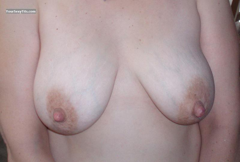 Tit Flash: My Big Tits - Ele from United States