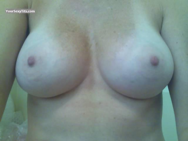 Tit Flash: My Big Tits (Selfie) - SweetC from United States