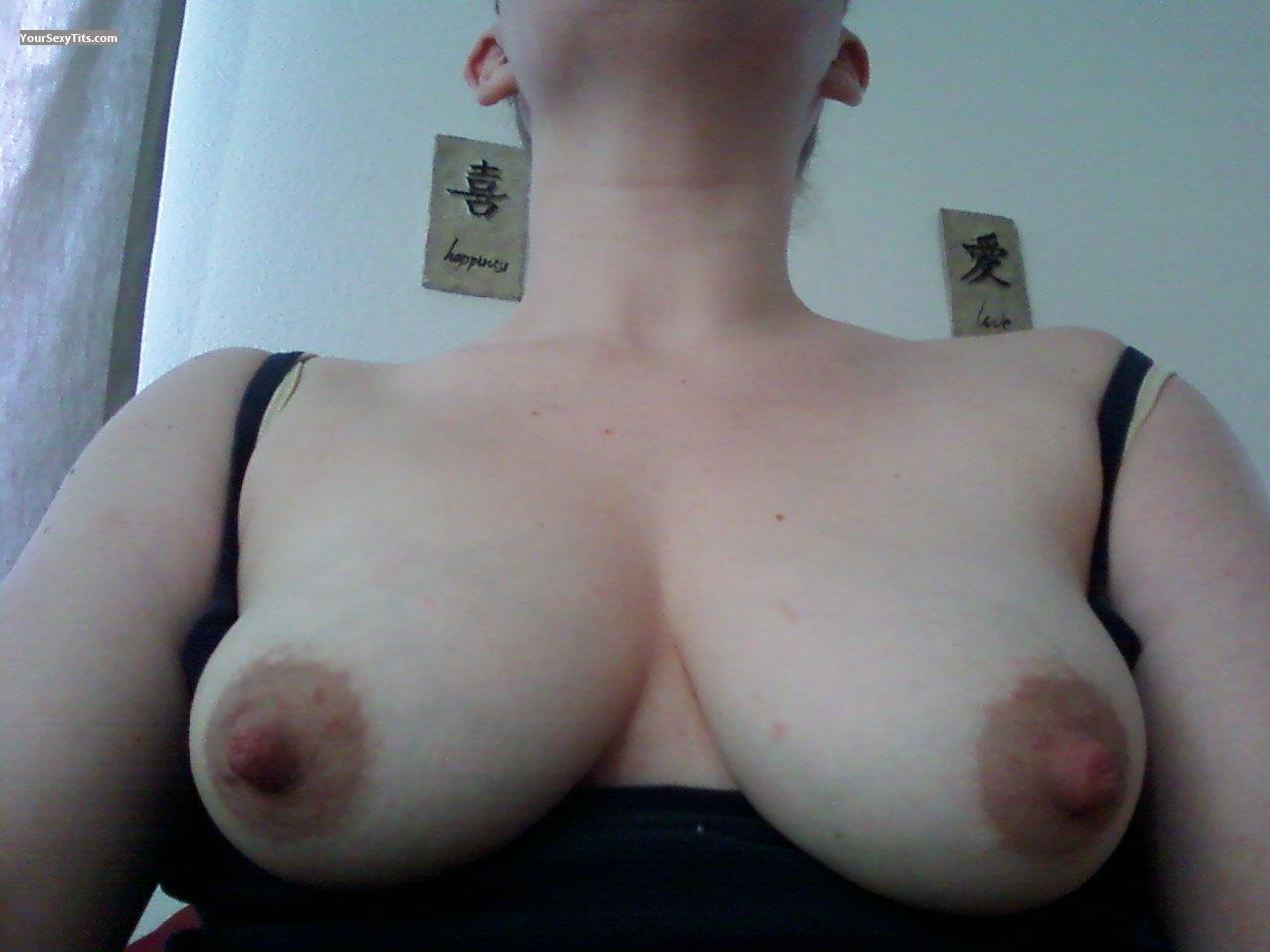 Tit Flash: Big Tits - Wife from United States