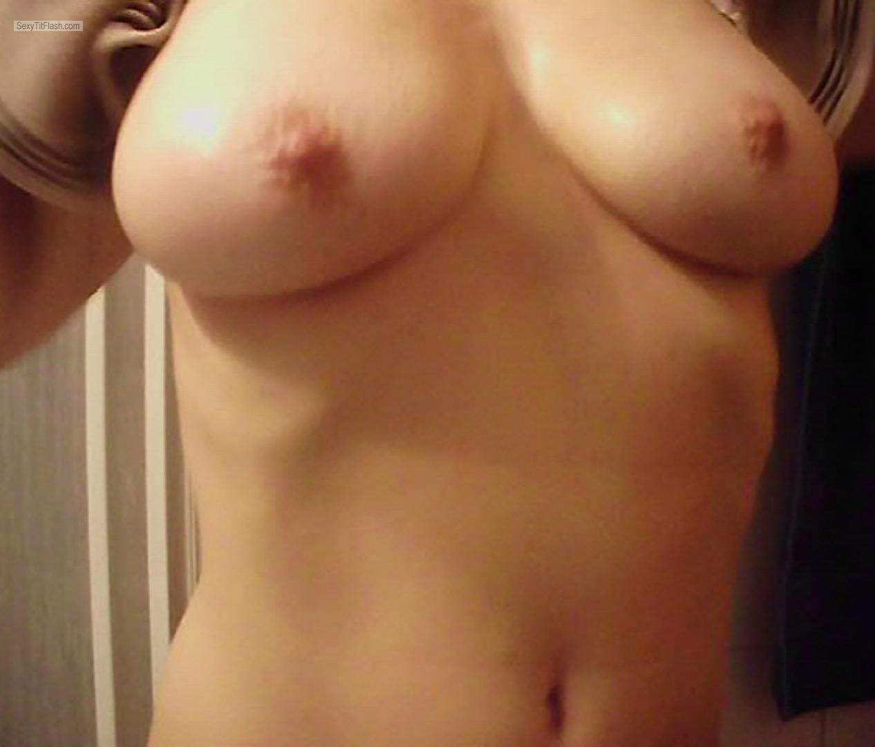 Tit Flash: My Big Tits - Sophie from United States