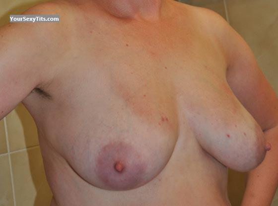 Tit Flash: Wife's Big Tits - Love To Suck Those Nipples from Germany