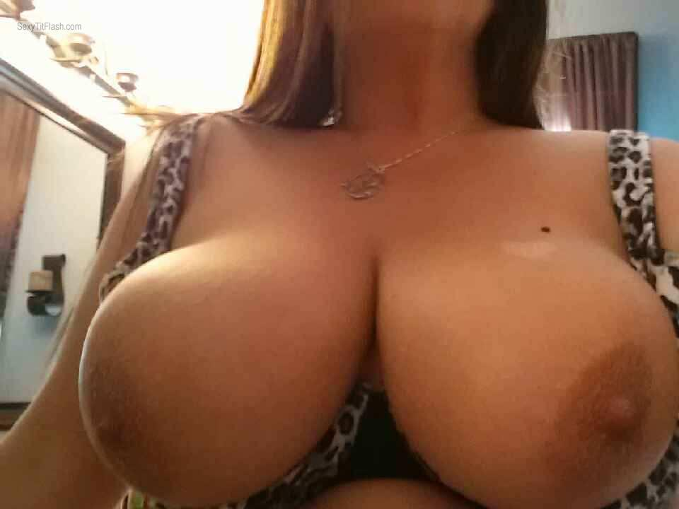 Tit Flash: My Big Tits (Selfie) - Josie from United Kingdom
