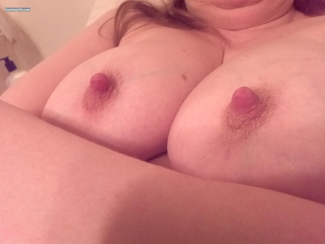 Tit Flash: Wife's Big Tits - Us from United States