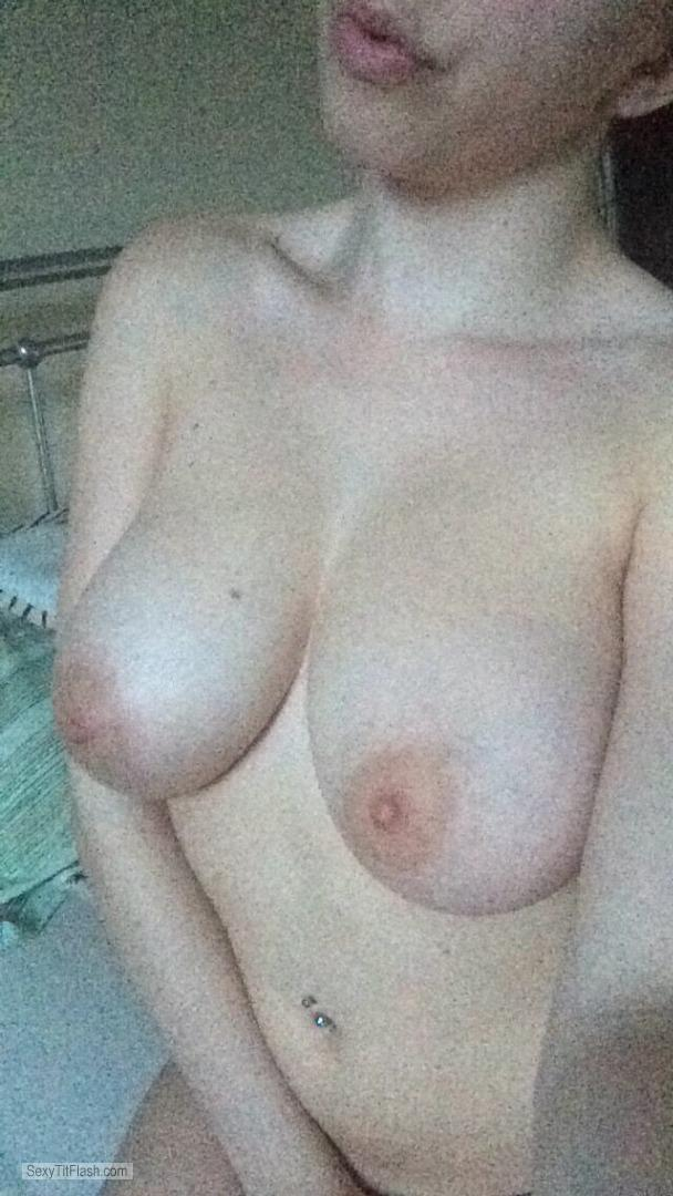 My Big Tits Topless Selfie by HotAshlee1696