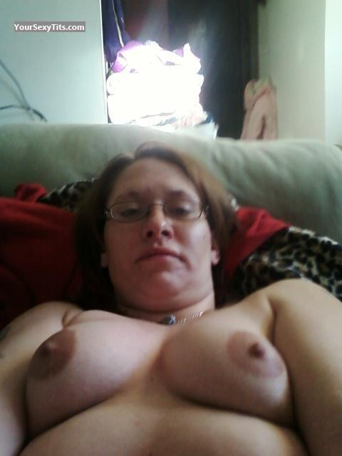 My Big Tits Topless Selfie by Nikki