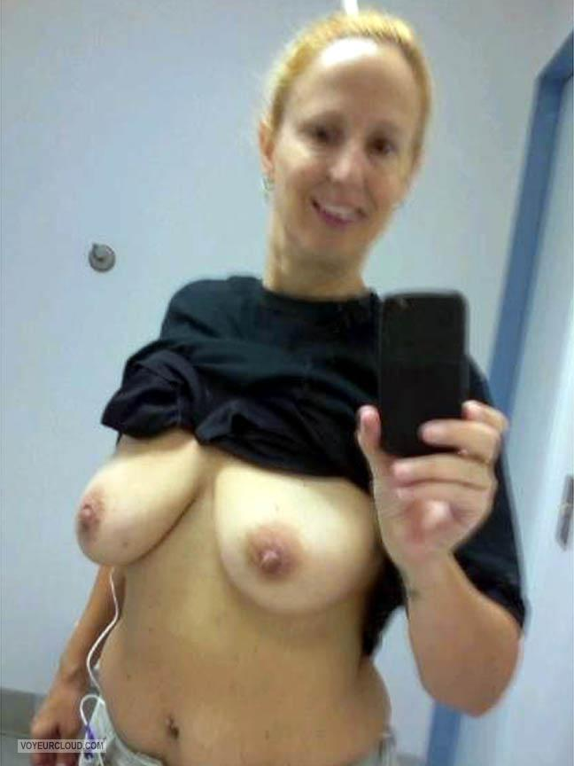 My Big Tits Topless Selfie by Rere