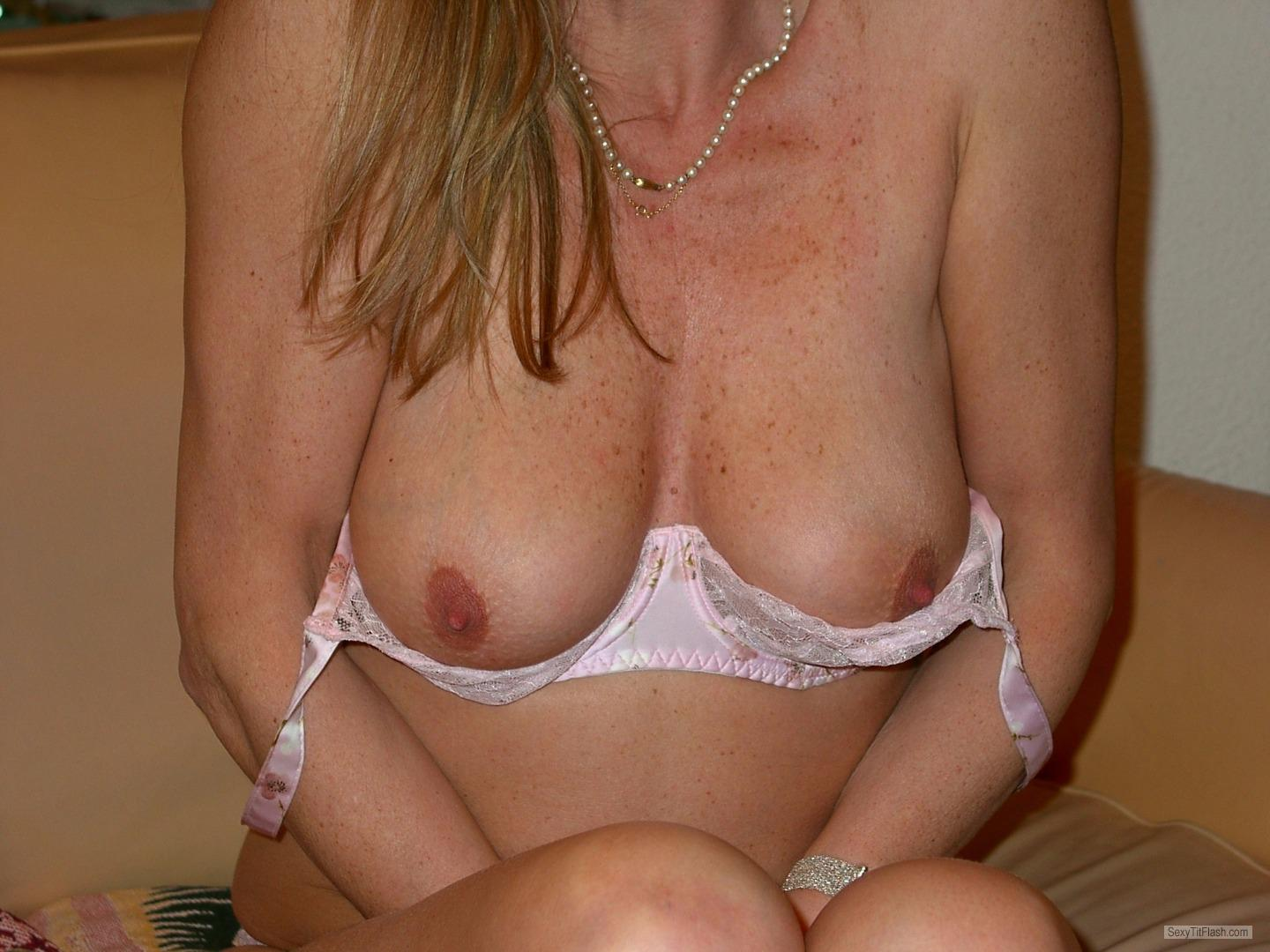 Tit Flash: My Big Tits - Nicy from France