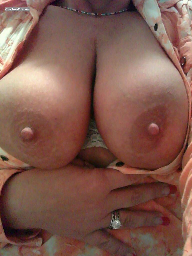 Tit Flash: My Big Tits (Selfie) - Missy from United States