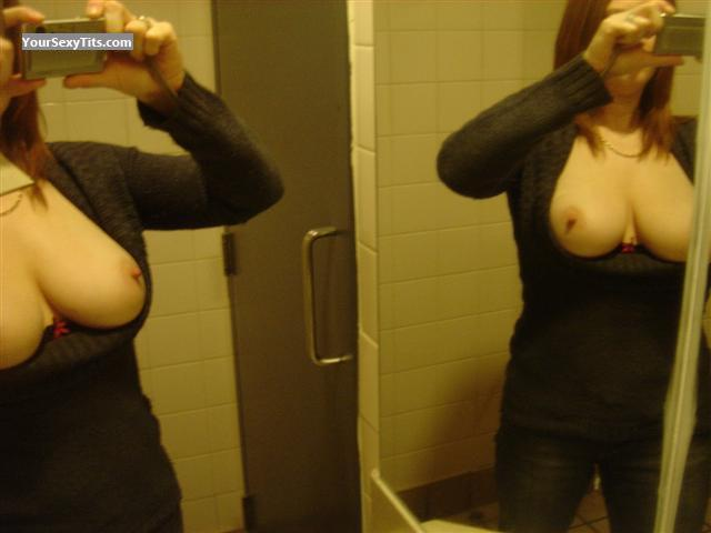 Tit Flash: Big Tits - Mrssmith from Canada