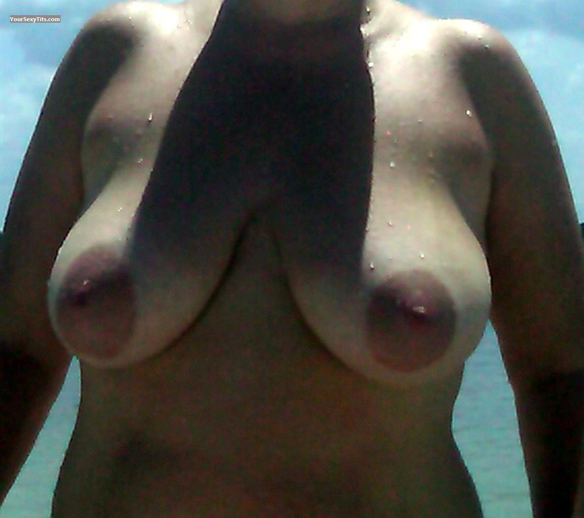 Tit Flash: Big Tits - Jules from United States