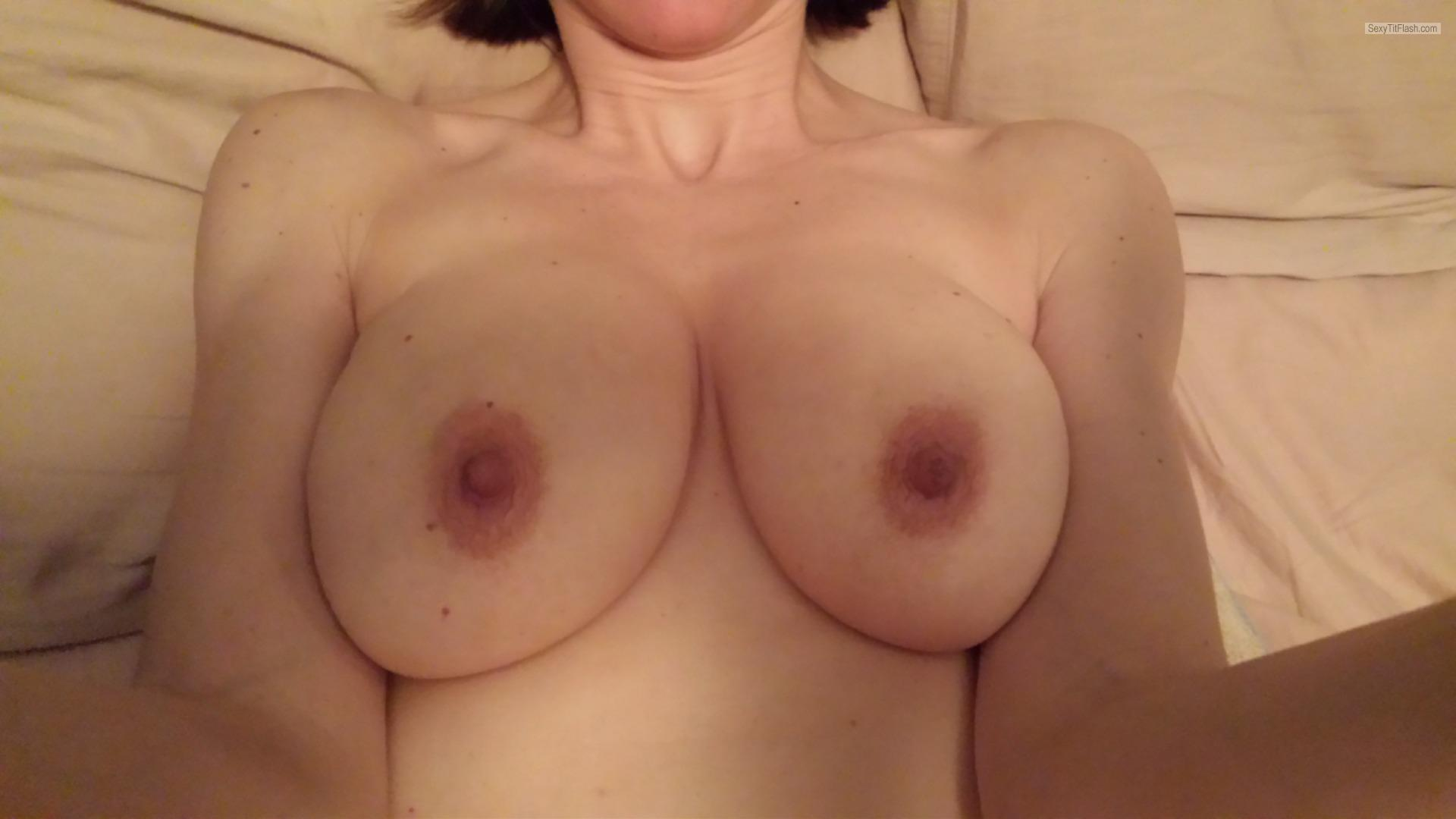 Tit Flash: My Big Tits (Selfie) - Jenny from Canada