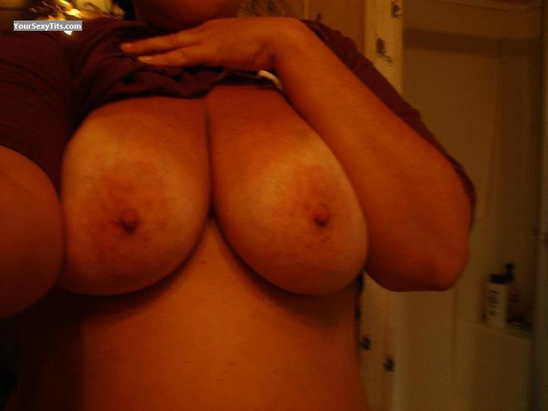 Tit Flash: My Big Tits (Selfie) - Good Girl from United States