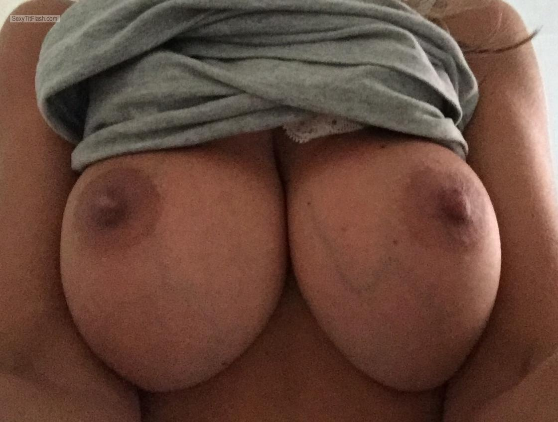 Big Tits Of My Wife Selfie by Tits