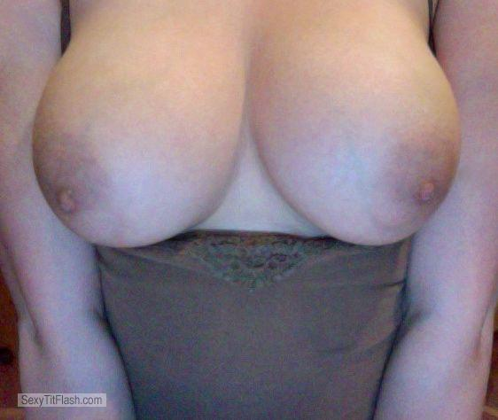 Tit Flash: My Big Tits (Selfie) - BB from United States