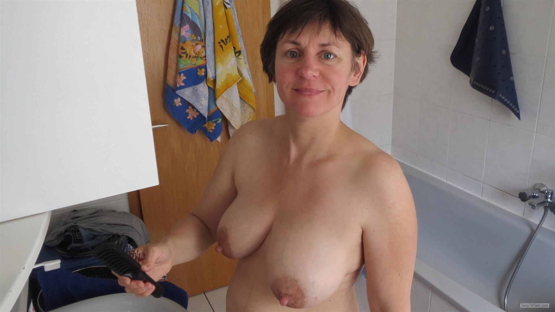 Big Tits Of A Candid Woman Topless Collected