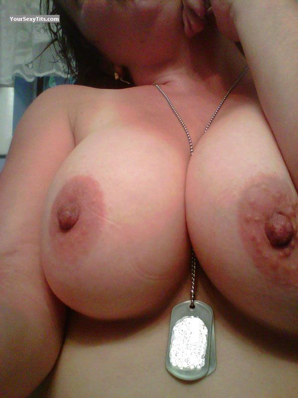 Tit Flash: My Big Tits (Selfie) - Alysa from United States