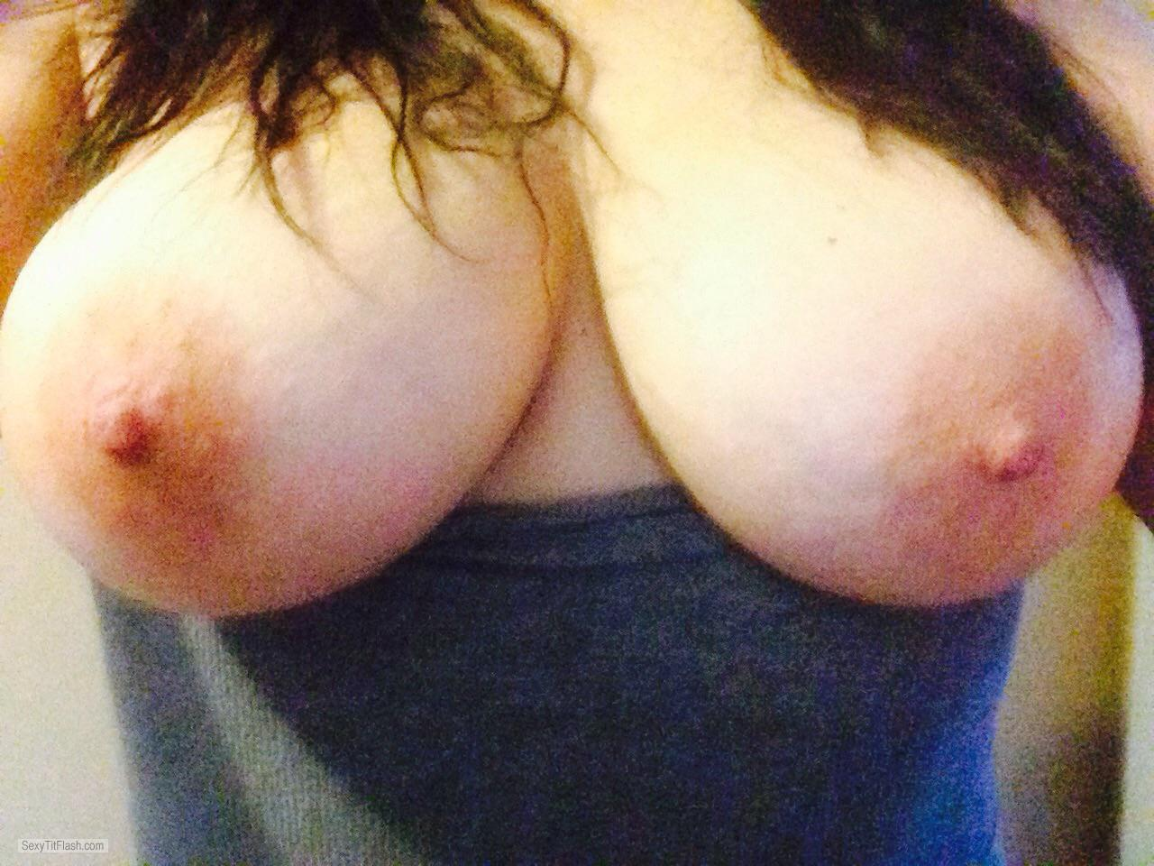 Big Tits Of My Wife Selfie by Shan