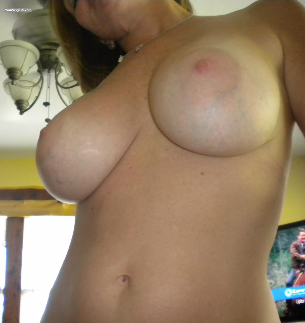 Tit Flash: Big Tits - Charlietex6274 On Y from United States