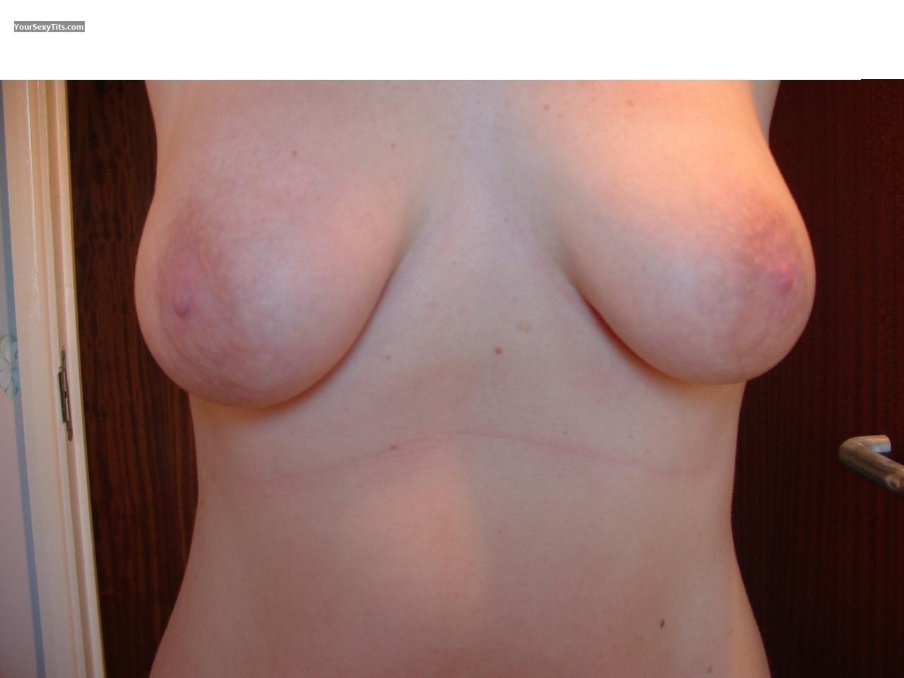 Tit Flash: Big Tits - Areolas from United Kingdom