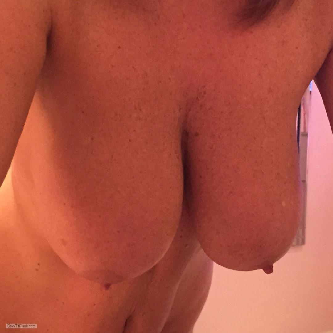 Tit Flash: My Big Tits - Please Enjoy from United Kingdom