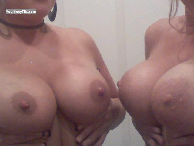 Tit Flash: Big Tits - Kisofanangel from United States