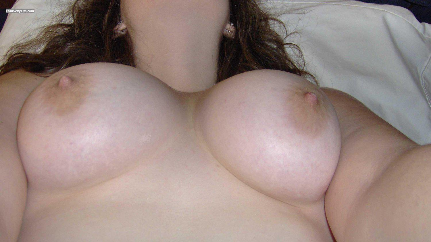Tit Flash: My Big Tits (Selfie) - KT from United States