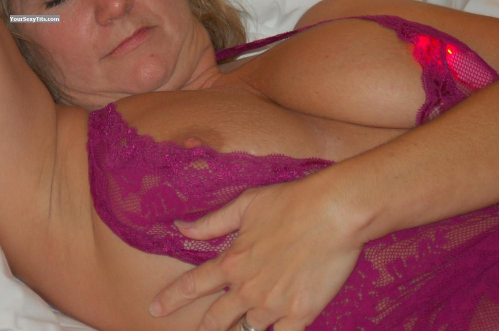Tit Flash: My Big Tits - Toni from United States