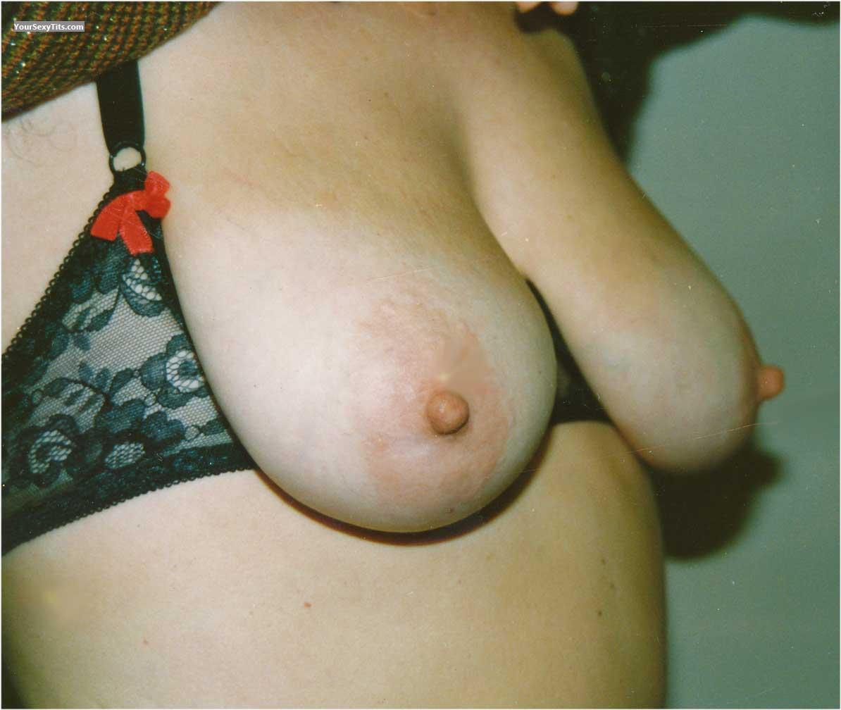 Tit Flash: Big Tits - Beate from Germany