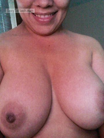 Tit Flash: My Big Tits (Selfie) - Wanna from Brazil
