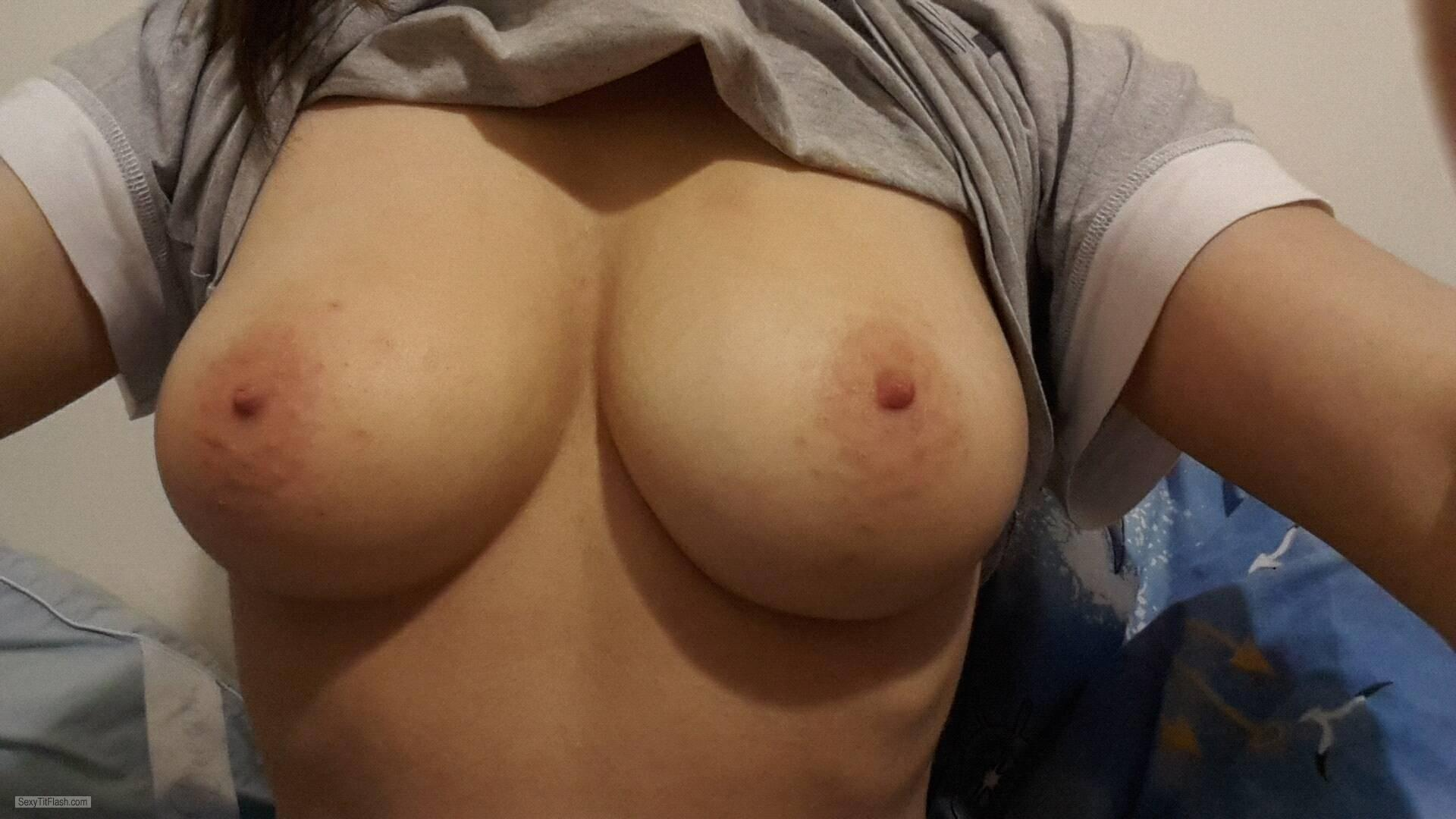 Big Tits Of My Ex-Girlfriend Topless Selfie by Loomcat