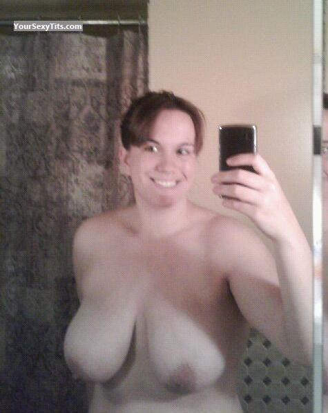 My Big Tits Topless Selfie by Caitie