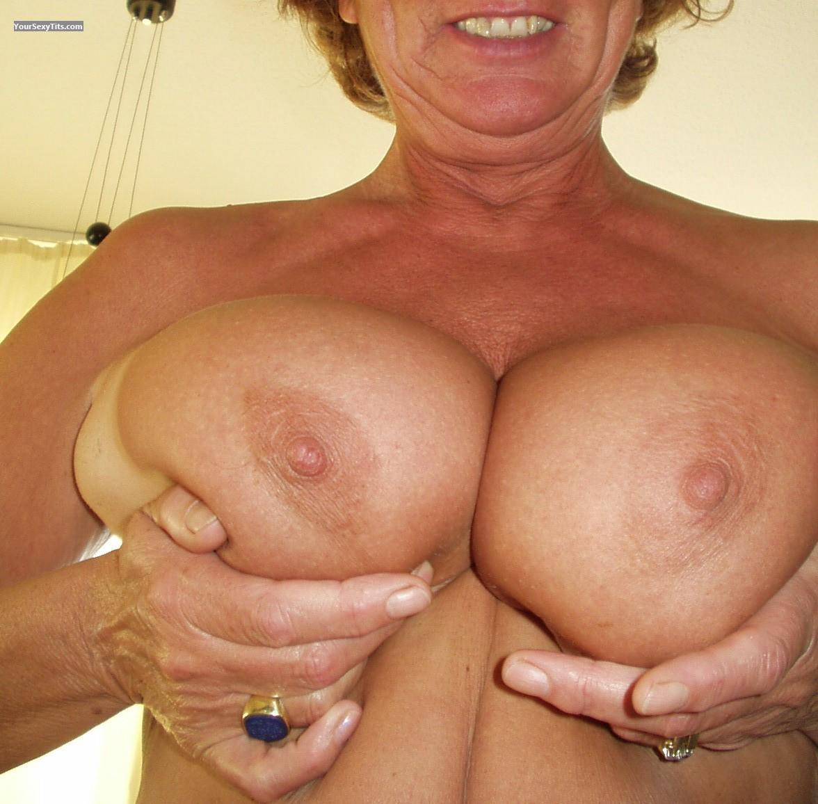 Tit Flash: Big Tits - Maren from Netherlands
