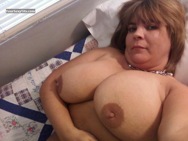 Tit Flash: My Big Tits (Selfie) - Topless Stacia from United States