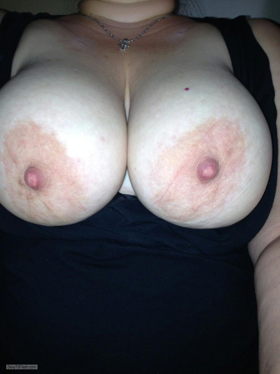 Big Tits Of My Wife Selfie by Jaimee