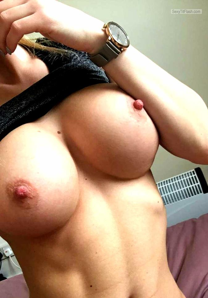Tit Flash: My Big Tits (Selfie) - Hot Mili from Australia