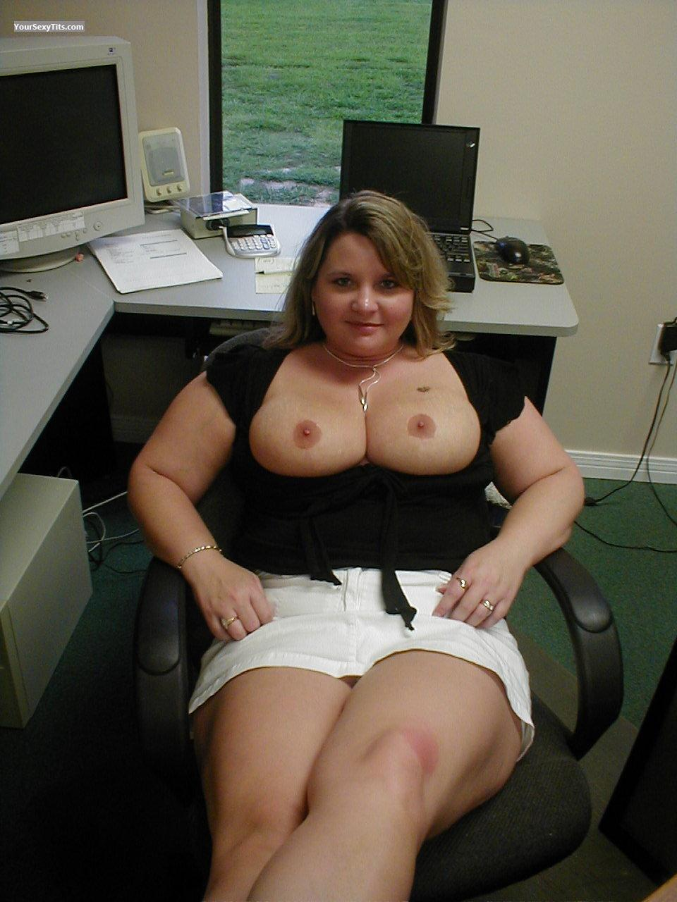 Big tits at work com