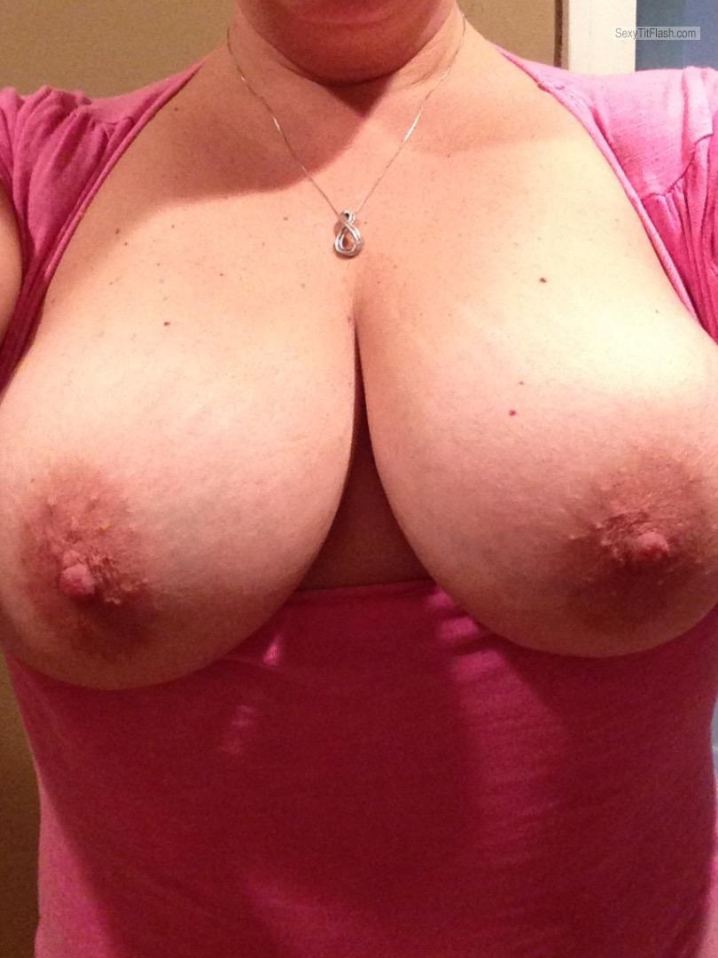 Tit Flash: My Big Tits - Guess from United States